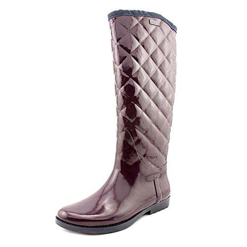 Tommy Hilfiger–Botas de lluvia Vintage para las mujeres Burgundy/Marine