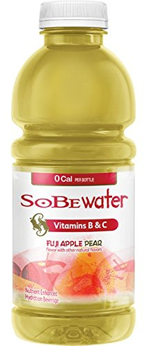 Sobe Lifewater Fuji Apple Pear, 20 Ounce Bottles (Pack of 24)