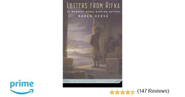 letters from rifka karen hesse 9780312535612 amazoncom books