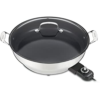 Cuisinart CSK-250WS GreenGourmet 14-Inch Nonstick Electric Skillet