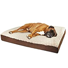 OxGord Pet Bed Rectangular Foam - Small