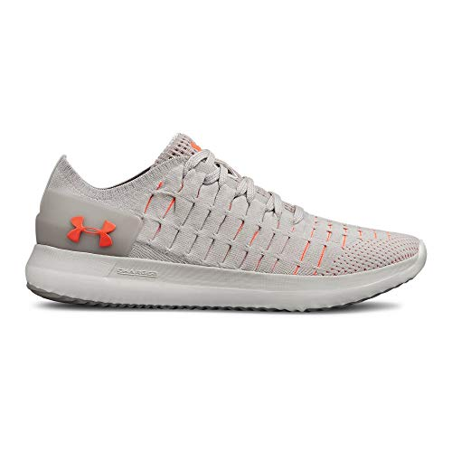 Under Armour Women's Slingride 2 Sneaker, Ghost Gray (104)/Ivory, 11 ()