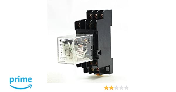 5 Amp 3PDT Uxcell HH53P Coil 11 Pin General Power Relay 28 VDC DC 240 VAC 12V