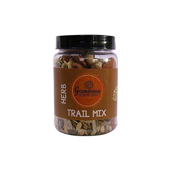 Graminway Premium Healthy Trail Mix, 150 gm (Herb Trail Mix)