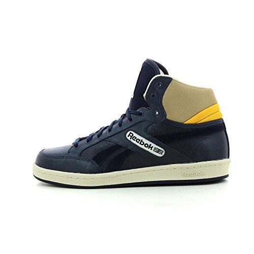 Reebok Classic Leather Mid Casual - Blau - 45