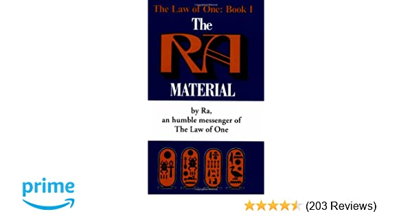 Amazon com: The Ra Material: An Ancient Astronaut Speaks (Law of One