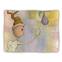 Kess InHouse Matthew Reid 'Purple Fruit' Dog Blanket, 40 by 30-Inch