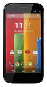 Motorola MOTO G XT1033 8GB Unlocked GSM Dual-SIM Quad-Core Smartphone - Black