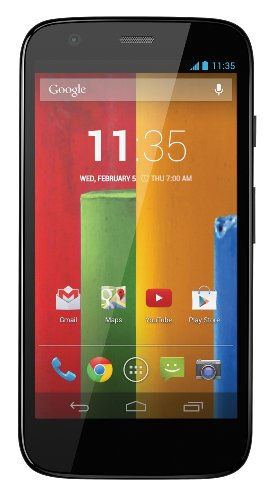Motorola Moto G (1st Generation) XT1032 16GB - Global Unlocked GSM Quad-Core Smartphone (Certified Refurbished)
