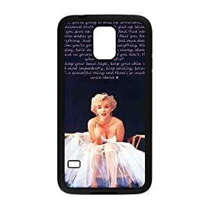Customized Phone Case for SamSung Galaxy S5 i9600 - Marilyn Monroe Quotes case 2