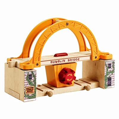Thomas And Friends Wooden Railway - Rumblin Bridge Colors May Vary from Learning Curve