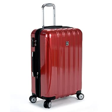Delsey Luggage Helium Aero 25 Inch Expandable Spinner Trolley, Brick Red,One Size