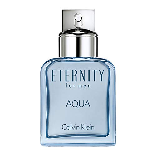 Calvin Klein ETERNITY for Men AQUA Eau de Toilette, 3.4 Fl Oz