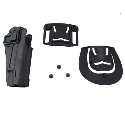 AGPtek® Tactical Holster Right Hand Gun Paddle with Belt Holster for Colt 1911