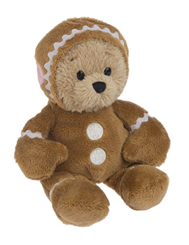 Ganz Wee Bears Gingerbread Holiday Bear In Gingerbread Man Costume from Ganz