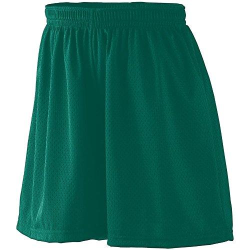 Augusta Sportswear WOMEN'S TRICOT MESH SHORT/TRICOT LINED L Dark Green Augusta Sportswear Mesh Shorts