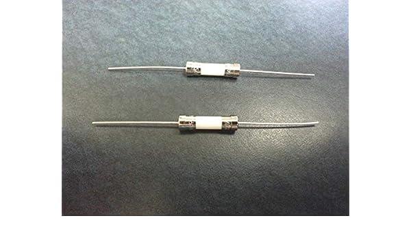 2pcs 3.15A Ceramic Pigtail fuse 250V 5x20mm SLOW blow