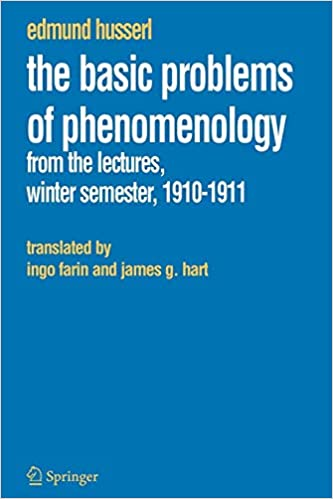 /basic problems of phenomenology/