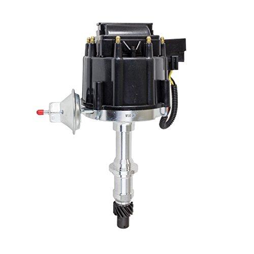 - A-Team Performance Pontiac Small Block/Big Block 65K COIL HEI Complete Distributor 301 326 350 389 400 421 428 455 1-Wire Instillation Black Cap