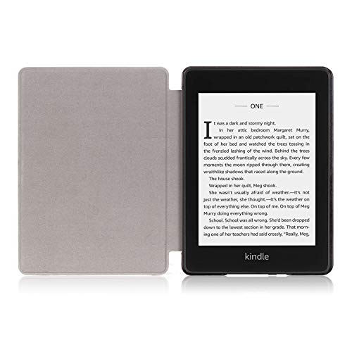 Anvas Case for Kindle Paperwhite 10th Gen 2018,Thinnest Light Shell Smart Cover with Auto Wake/Sleep for All-New Amazon Kindle Paperwhite 6 Inch 2018 Release, Purple