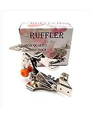 LNKA Ruffler Presser Foot Attachment Low Shank Foot for Janome Brother Singer Pfaff Rufler Sewing Machine # 55705 (Pink Box)