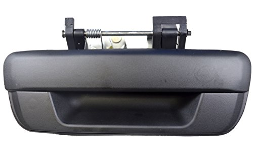 PT Auto Warehouse GM-3562A-TGK - Tailgate Handle, Textured Black - without Keyhole