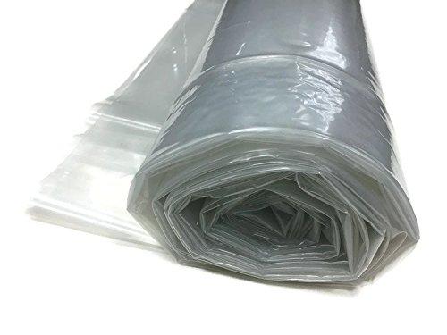 Farm Plastic Supply 4 Year Clear Greenhouse Film 6 mil thickness (24'W x 25'L)