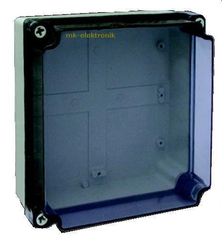 Industriegehä use Feuchtraum Verdrahtungsgehä use Abzweigkasten Schaltkasten Kunststoffgehä use 200x200x100mm MKV MKS-200