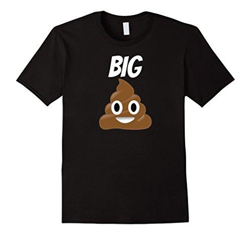 Men's Poop Emoji T Shirt Big Poop Shirt Poop Emoji XL (Mens Fun Dip Costumes)