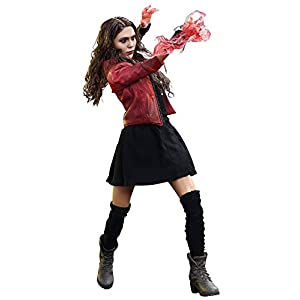 41ICVEJ1AwL. SS300 Hot Toys Marvel Avengers Age of Ultron Scarlet Witch 1/6 Scale Figure