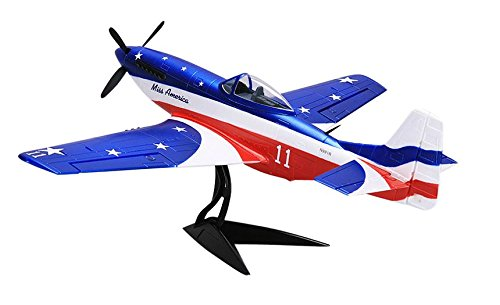 MD Group RC Plane Wingspan Warbird Kit Mustang 680mm North American P-51D  P51D Model