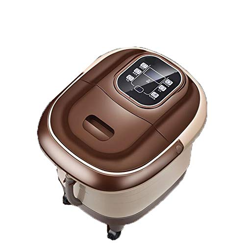 AIWO Foot Spa and Massager Foot Massage Machine Water Auto Pedicure Massage Roller Bubble Red Light Remote Control Neuropathy Stress Relief Relaxation
