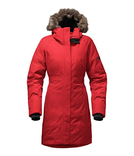 The North Face Women's Arctic Parka II - TNF Red - M (Past Season) by The North Face