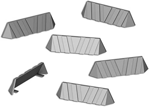 Blockade Walls, Terrain Scenery for Tabletop 28mm Miniatures ...