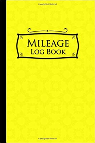 amazon com mileage log book vehicle mileage expense tracker log