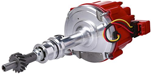 Top Street Performance JM6506R HEI Distributor with Red Cap (50K Volt Coil)