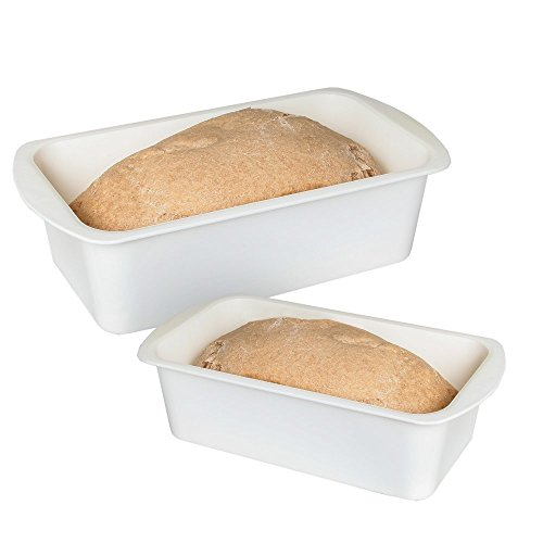 Home-X Microwave Loaf Cake Pan Non-Stick Baking Mould Perfect for Cake Microwave Dishwasher Safe Set of 2 Includes 2 -