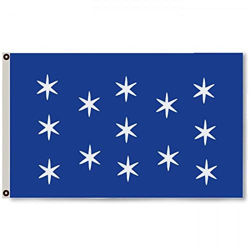 (Flylong Washington's HQ Headquarters Flag Banner Man Cave 3x5Feet)