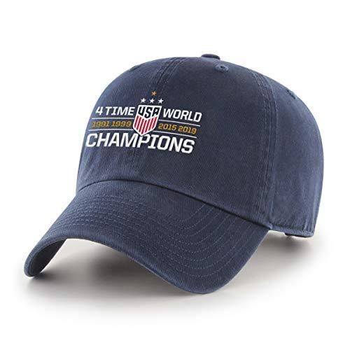 U.S. Soccer National Team 2019 World Cup Champions Men's OTS Challenger Adjustable Hat]()