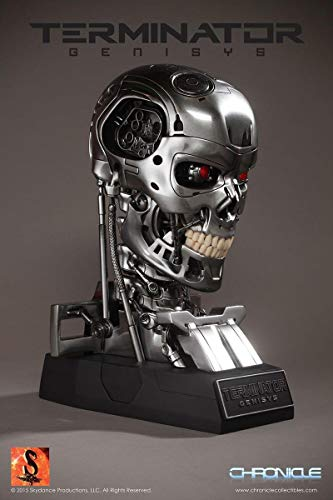 Chronicle Collectibles Terminator Genisys T-800 Endoskeleton Life-Size Bust Prop Replica (Terminator T 800 Endoskeleton Life Size Bust)