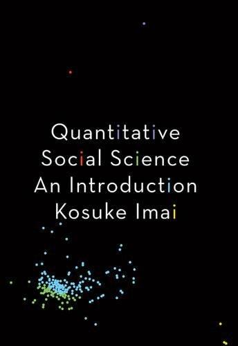 Quantitative Social Science: An Introduction (Best Computer Science Graduate Schools)