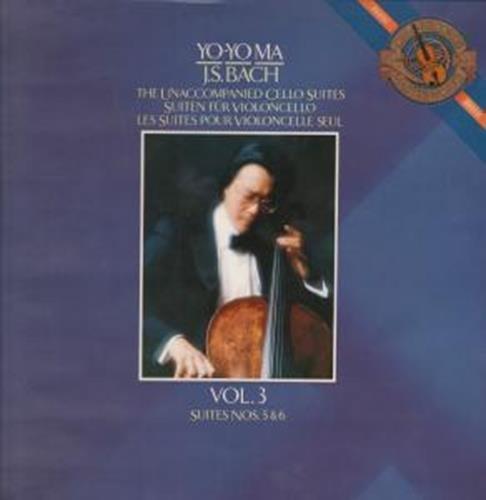 Yo-Yo Ma / J. S. Bach: The Unaccompanied Cello - Vinyl Unaccompanied Cello