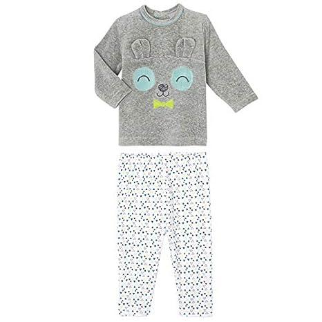 673a5b98c804a Petit Béguin - Pyjama bébé 2 pièces velours Petit Panda - Taille - 9 mois