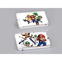 Nintendo 3DS XL MARIO Protective Vinyl Skin Decal Set