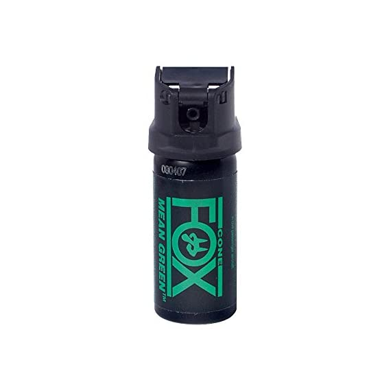 PS Products 2 oz 6% Mean Green Cone Fog Pepper Spray 1 Searing 3,000,000 SHU formula at 6% concentration Provides 180,000 SHU out the nozzle and 1.2% total capsaicinoids - fast acting formula Non-flammable and safe to Use with Tasers or other stun devices