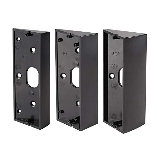 Price comparison product image Adjustable Angle Doorbell Bracket for Ring Video Doorbell Pro More Angle Choices Black