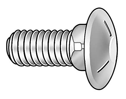 Amazon Com Carriage Bolt 516 18x1 34l Pk100 Pack Of 5 Home