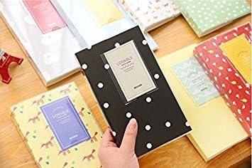 Akooya Album photo Polaroid Nominette /étui de rangement Mini Film 84/poches pour appareil photo Fuji Instax Mini 8/ cloud Mini /Bleu canard