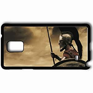 Personalized Samsung Note 4 Cell phone Case/Cover Skin 300 Black