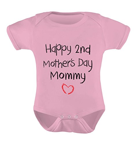 TeeStars – Happy 2nd Mothers Day Mommy Infant Baby One Piece Cute Baby Bodysuit